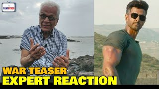 WAR Teaser | Lalu Makhija EXPERT REACTION | Hrithik Roshan, Tiger Shroff, Vani Kapoor | 2nd October
