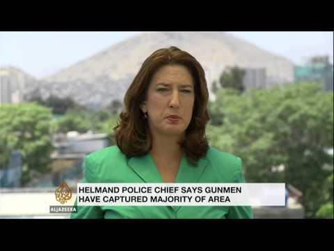 Afghan Taliban siege Helmand police station