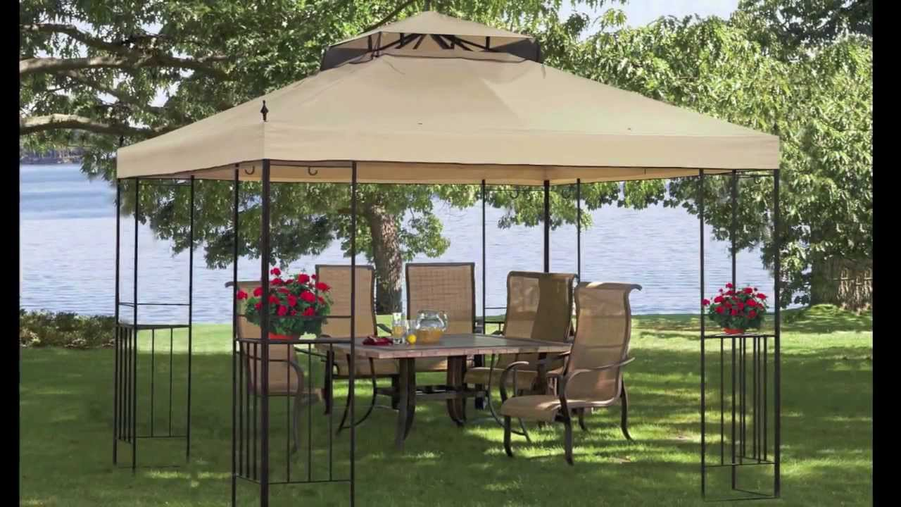 Charmant Deck Canopies And Gazebos Photos