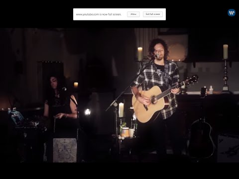Jason Mraz - I Won't Give Up (live In London) video