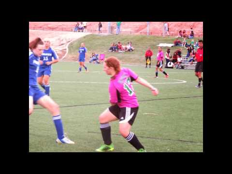 Virgin Valley High School Girls Soccer Game Oct 7 2013