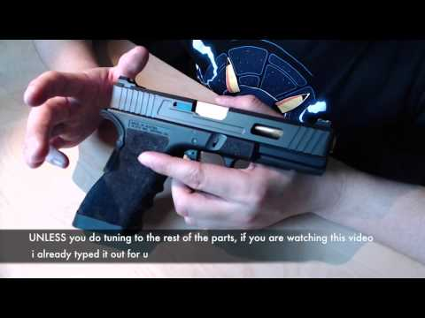 Q&A (1) - Fitting metal slide on TM glock / Hammer springs? / Trigger bar jamming issue /