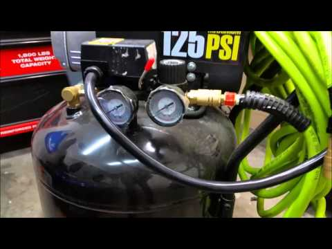 Harbor Freight 21 Gallon Air Compressor (#67847)