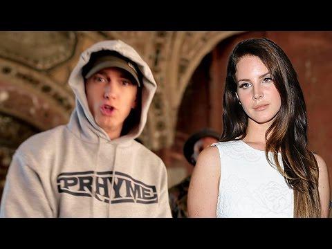Eminem Disses Lana Del Rey in New Freestyle Video!