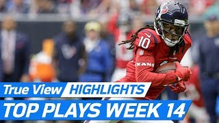 Top 360 & POV freeD Plays of Week 14! | NFL Highlights