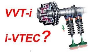 i VTEC và VVT i là gì? Tìm hiểu về công nghệ trục cam biến thiên trên ô tô | Lucky Luan