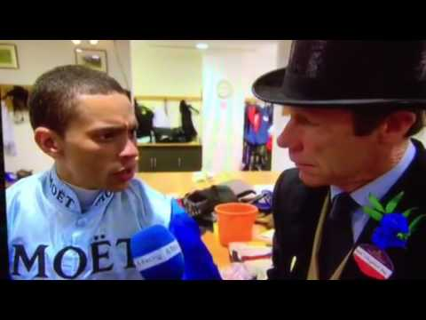 C4 interview for MOET sponsor Chelsea Thoroughbreds during ROYAL ASCOT 2016