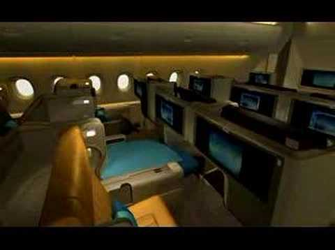 Singapore Airlines A380 Cabin