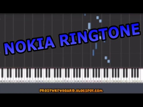 ♫ NOKIA RINGTONE ♫ On Piano Keyboard