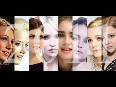 The 100 Most Beautiful Faces of 2011