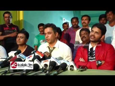 Arjun Intriview Oru Melliya Kodu Movie Spot