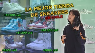LA TIENDA DE SNEAKERS MÁS EXCLUSIVA DE CHILE | OFF WHITE, FEAR OF GOD, ATMOS, ETC