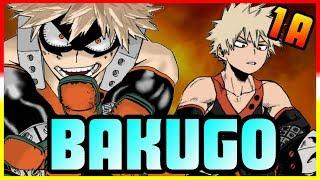 CLASS 1-A: Katsuki Bakugo - My Hero Academia Discussion