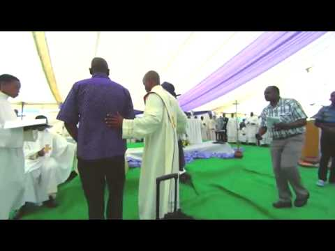 Priestly Ordination in Palapye, Botswana. 2014
