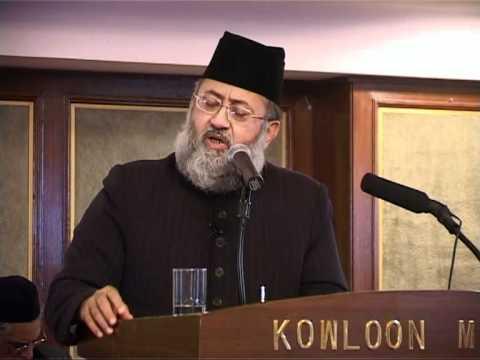 Maulana  Syed Salman Al Hussaini Al Nadvi Kowloon Masjid Hong Kong video
