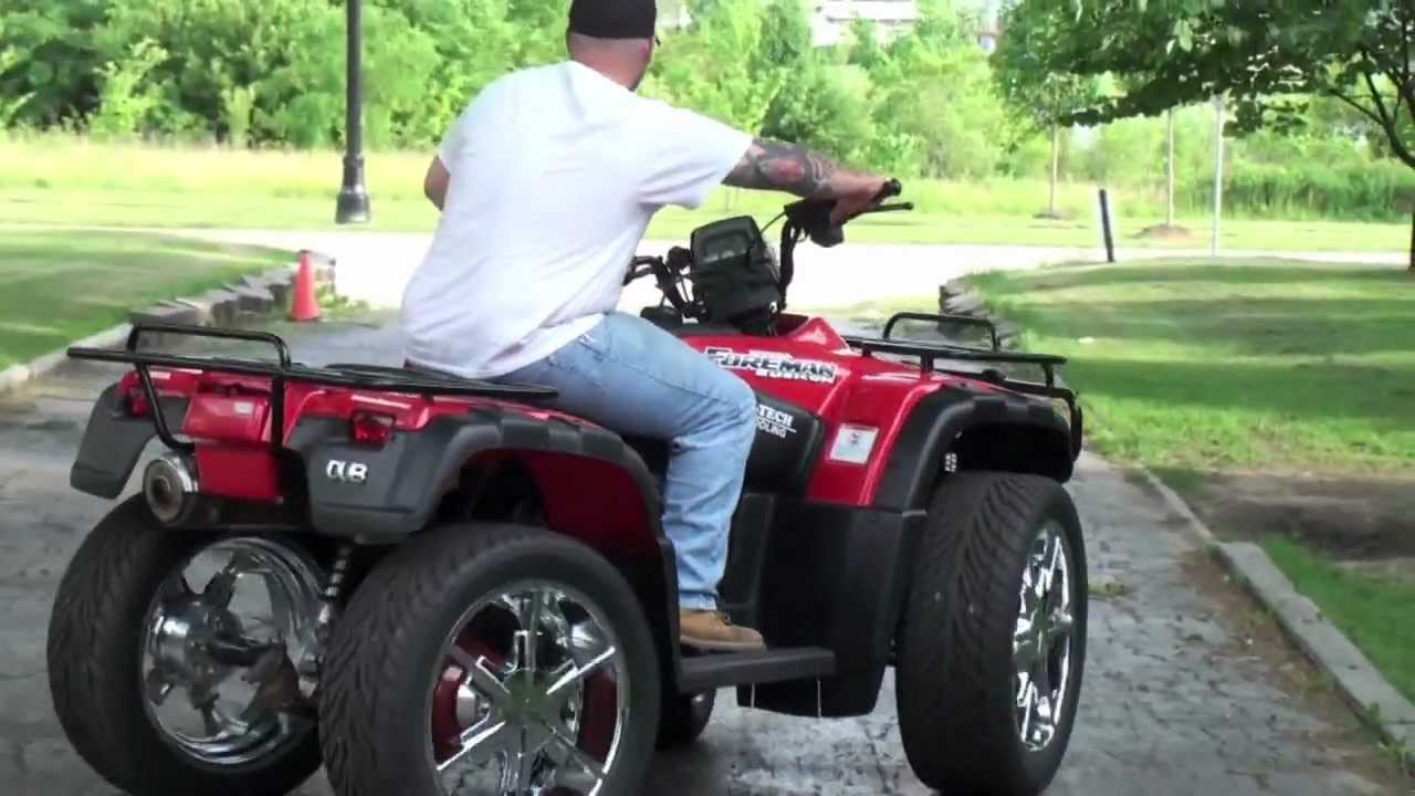 Big Wheels Atv Rims Honda 4x4 She S Got The Look Roxette