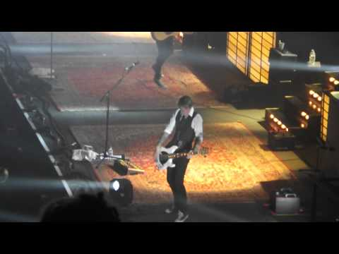 Mcfly PART 4 - the Band playing around - Obviously -  Memory Lane Tour - Wembley arena - 18-05-2013