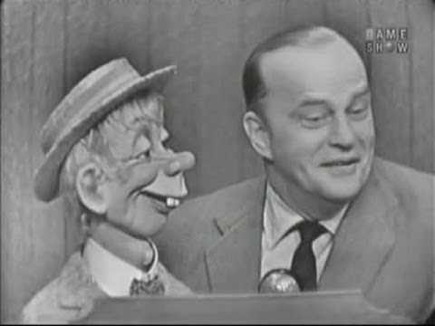 What's My Line? - Marguerite Higgins; Edgar Bergen; Paul Winchell [panel] (Apr 29, 1956)
