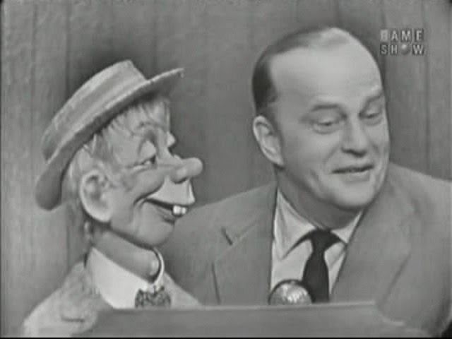 What's My Line? - Marguerite Higgins; Edgar Bergen; Paul Winchell [panel] (Apr 29, 1956)