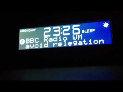 Deluded clipboard connor. BBC WM DAB text