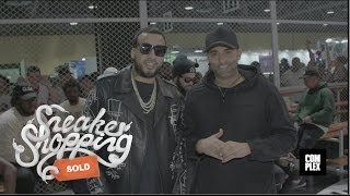 French Montana Goes Sneaker Shopping at ComplexCon