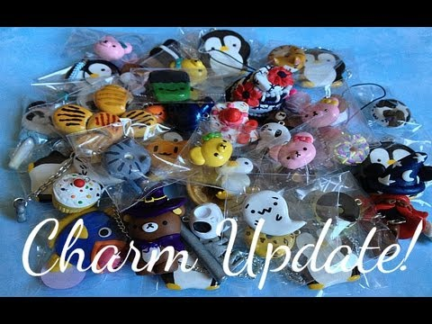 Charm Update #9 Squishy Charms & Painted Charms!