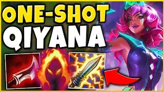 *NEW MAIN* WORLDS FIRST QIYANA PENTAKILL (BETTER THAN AKALI) - League of Legends