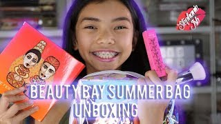 UNBOXING VIDEO!! - BEAUTY BAY SUMMER BAG 2018