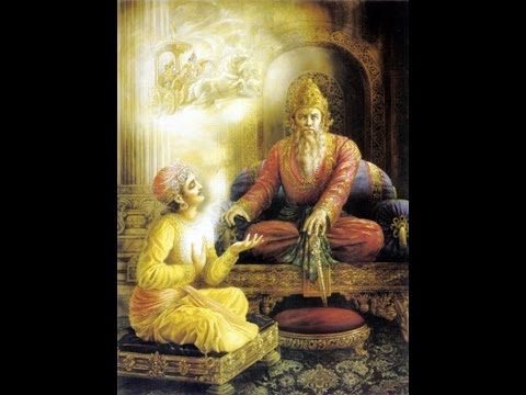 Bhagavadgita Vedio Text Chapter.01.slokas.01 To 23.sanskrit,telugu,english Andmeaning In English.wmv video