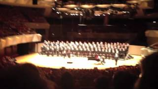 "Turtle Creek Chorale sings ""Majesty and Glory"" and ""Being Alive"""