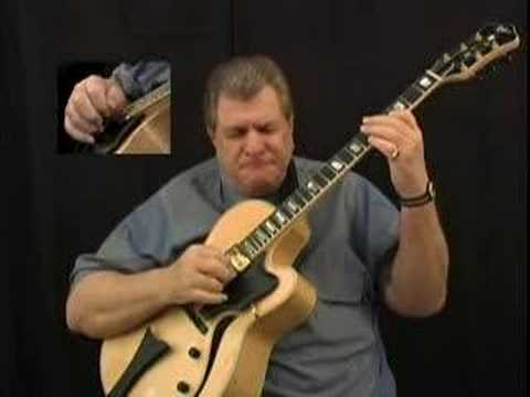 Jazz Guitar Bebop Lesson Solo Robert Conti