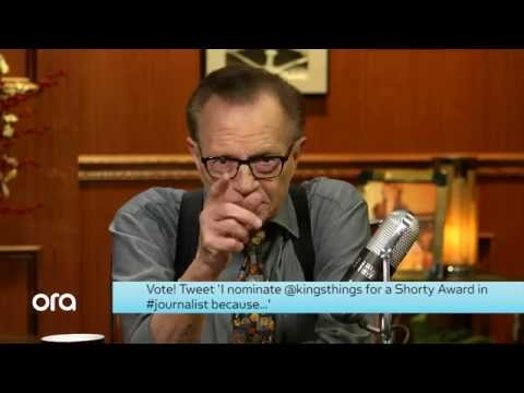 Shorty Awards: Larry King's Take On Seven Presidents, From Nixon to Clinton