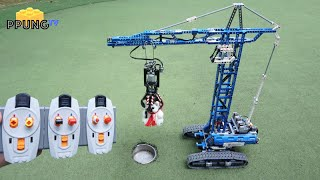 LEGO Technic 42042 B model - RC Motorized Mobile Tower Crane (ultimate) by 뿡대디