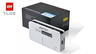 AGPtEK HD 1080P Video Capture Device Game Recorder Unboxing Review