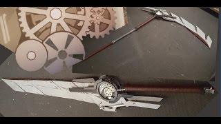 RWBY cosplay- Transforming Qrow Weapon (sword/scythe/ shotgun) tutorial