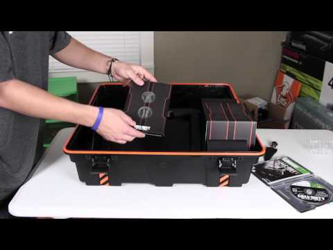 Call of Duty Black Ops 2 Care Package Unboxing!