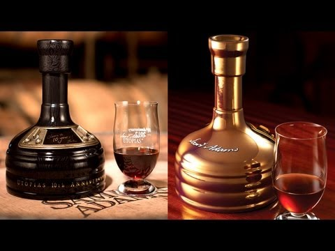 What Cheers! - #019 - Samuel Adams: Utopias (2011 & 2012 10th Anniversary Vertical Tasting)