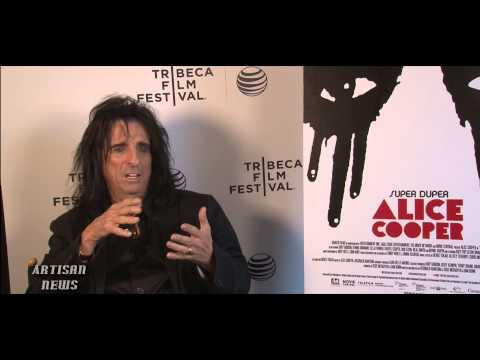 Alice Cooper, Filmmakers Ready For Tribeca Film Fest Premiere Of Super Duper Alice Cooper video