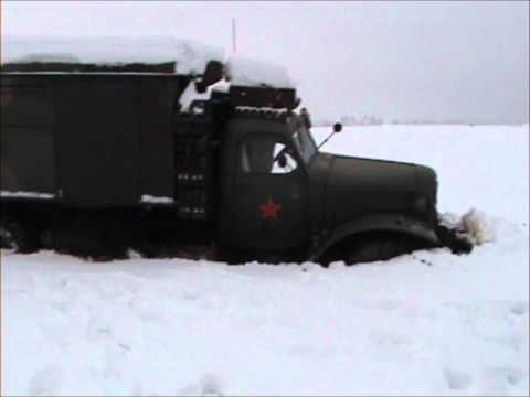 Zil 157 vs. Ural 375d