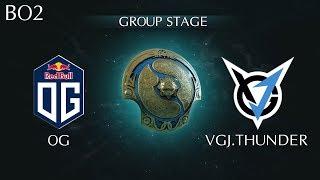 Highlights OG vs VGJ.T TI8 Group A | VGJ.Thunder vs OG The International 2018