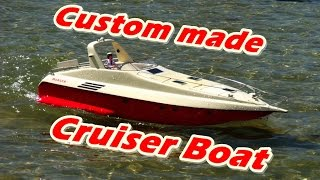 CVP - RC Custom made Cruiser boat by MG