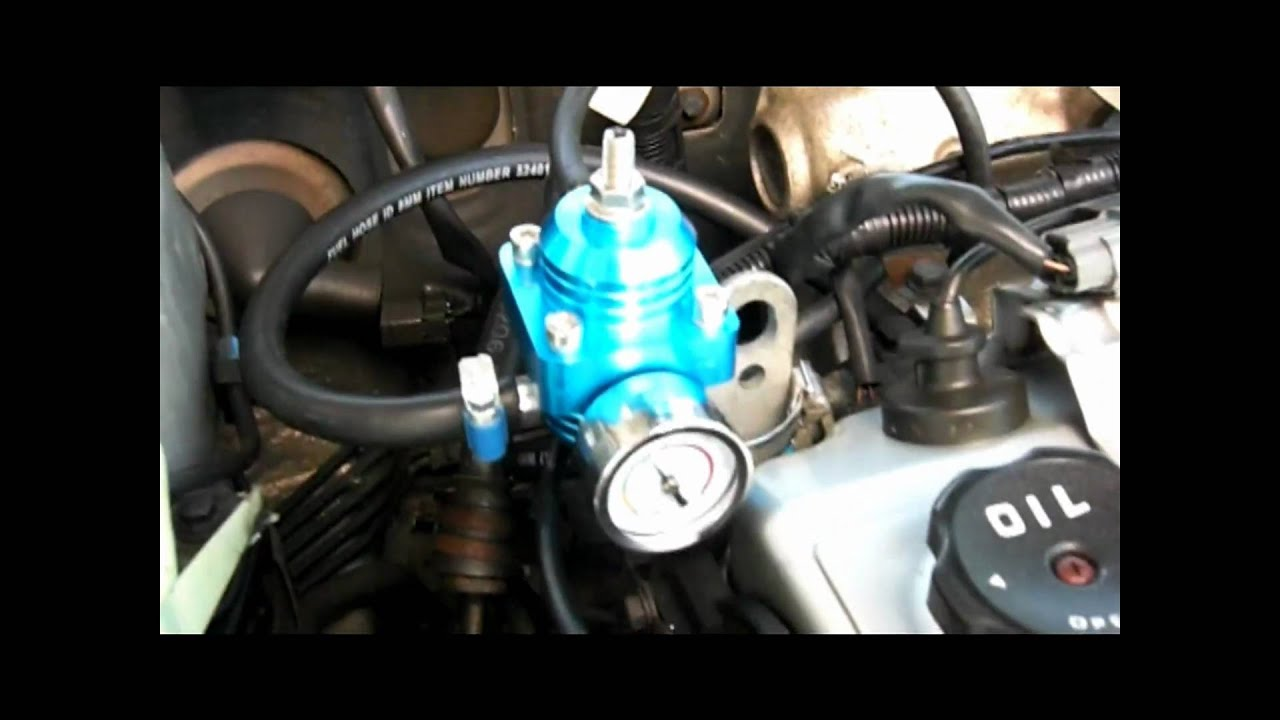 fuel pressure regulator instructions