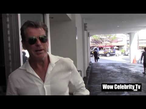 Pierce Brosnan spotted in Beverly Hills