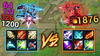 CRIT Vayne vs ON-HIT Vayne