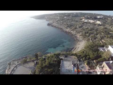 Torre San Gregorio, video con drone della costa jonica del Salento - 2km da S.Maria di Leuca