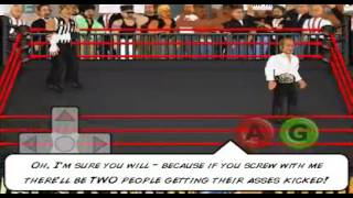Wrestling revolution 2d - how to injure seriously your  opponents in every match  with steel chair