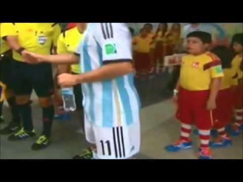 Messi vs Cristiano Ronaldo - 2014 World Cup Children