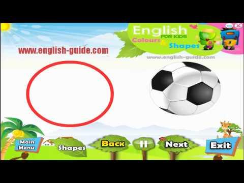 Shapes تعليم الاطفال الانجليزية - تعليم الاشكال