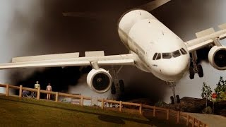 BIG AIRPLANES small runway [TFFJ PART 2] XPLANE 11