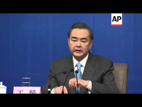 Chinese foreign minister expresses concern over missing Malaysia Airlines flight